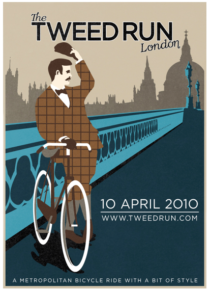 tweed run, london, 2010, cycling, rides, bikes